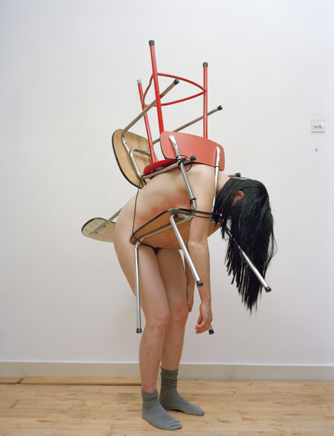 , 'Furniture Bondage: Anne,' 2007, Akinci