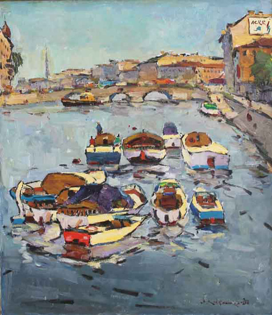 , 'June in St. Petersburg,' 2000, Paul Scott Gallery & galleryrussia.com