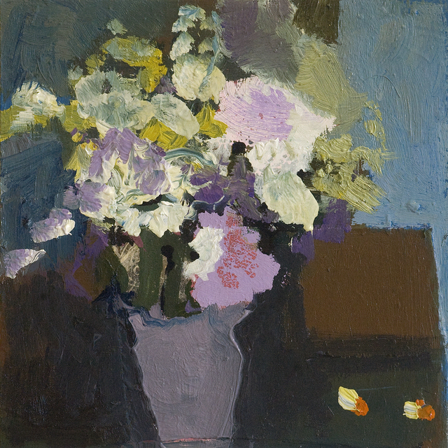 , 'Flowers with Brown Vase,' 2018, Oeno Gallery