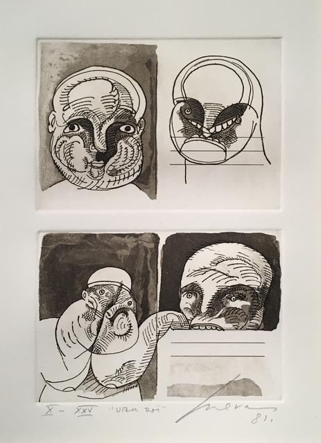 , 'Untitled X/XXV UBU ROI,' 1981, Glade Gallery