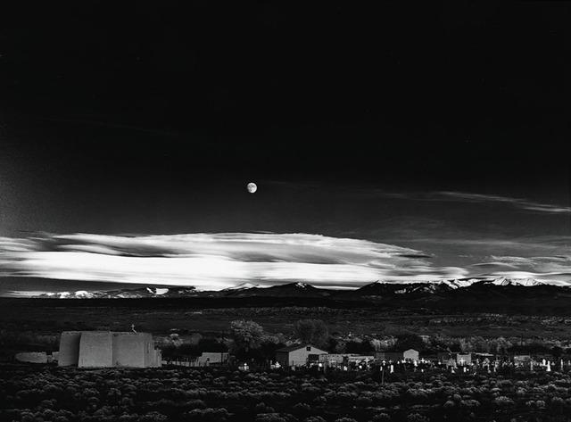 , 'Moonrise, Hernandez, New Mexico,' 1941, Danziger Gallery