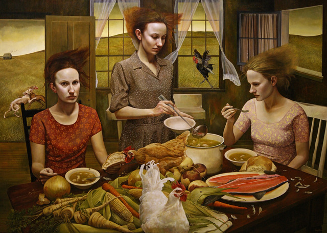 , 'The Feast,' 2014, RJD Gallery
