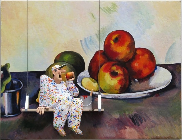 , 'Still Life with Apples - Cezanne ,' 2016, Zenith Gallery