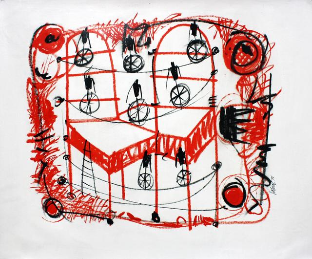 , 'Mechanical scene,' 2014, Maria Elena Kravetz