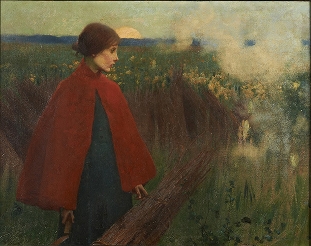, 'The Passing Train,' 1890, American Federation of Arts