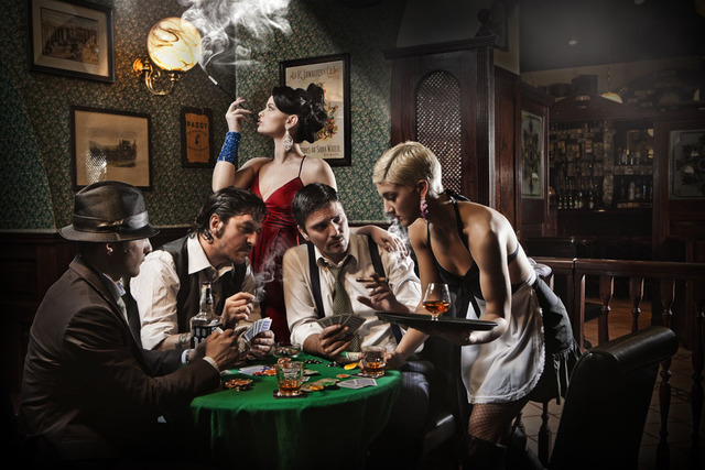 Fabrizio Cestari, 'Poker Players', 2014, Galleria Ca' d'Oro