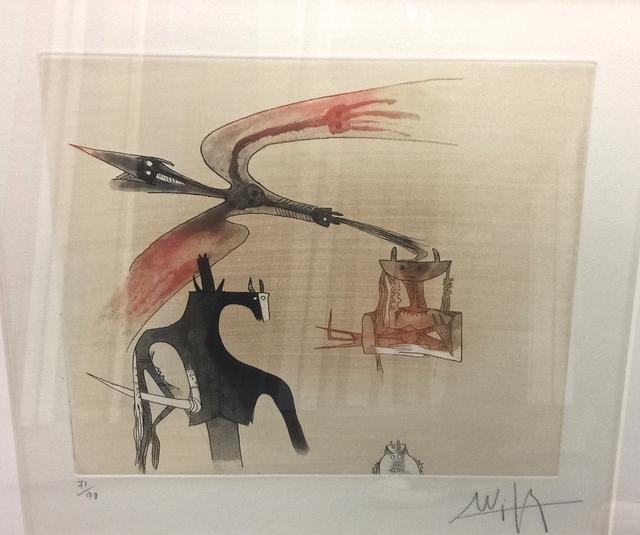 Wifredo Lam, 'Sans Titre II', 1979, Print, Etching, MLA Gallery