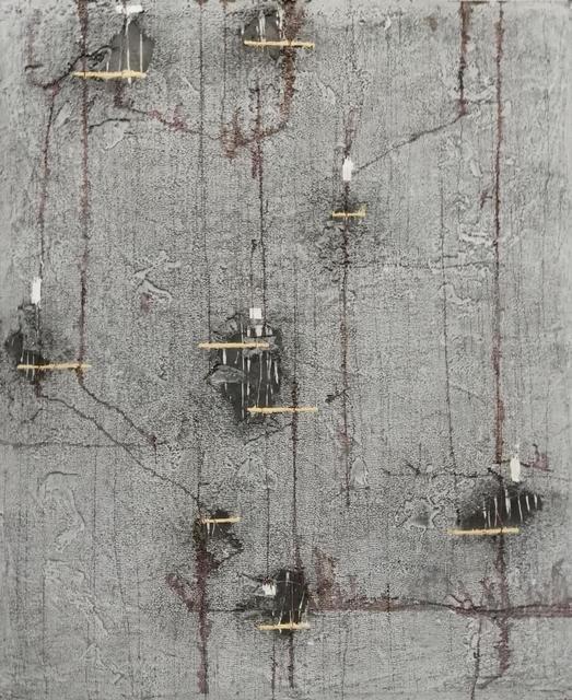 , 'Negros y Segmentos,' 2010, Galeria Joan Gaspar