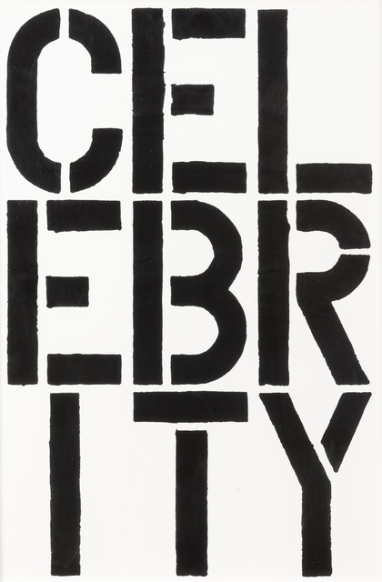 Christopher Wool, 'Celebrity', 1989, Forum Auctions