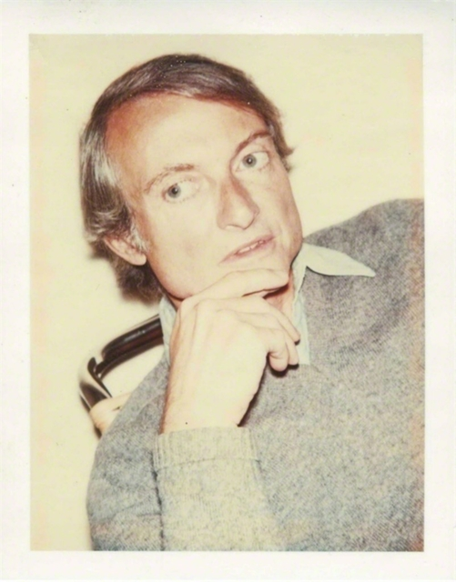 Andy Warhol, 'Portrait of Roy Lichtenstein (Authenticated)', 1975, Photography, Polaroid dye diffusion print (authenticated and stamped by the estate of Andy Warhol/Warhol Foundation for the Visual Arts). Framed, Alpha 137 Gallery Gallery Auction