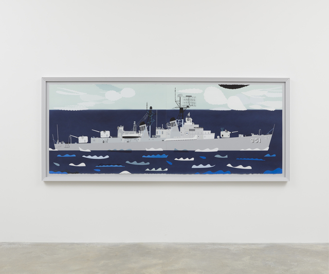 , 'USS Turner Joy,' 2017, Casey Kaplan