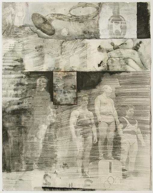 Robert Rauschenberg, 'Dante's Inferno - Canto XXXI, an Original Lithograph by Robert Rauschenberg', 2017, White Cross