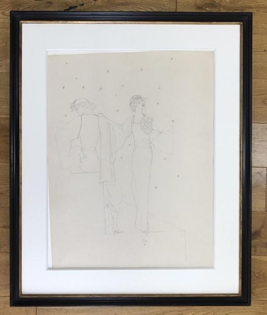 , 'Robes du soir sur fond étoile,' ca. 1935, Fairhead Fine Art Limited