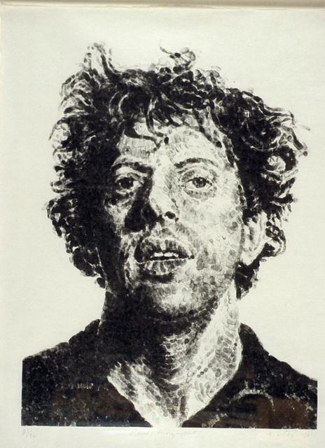 Chuck Close, 'Phil/Fingerprint', 1981, Louis K. Meisel Gallery
