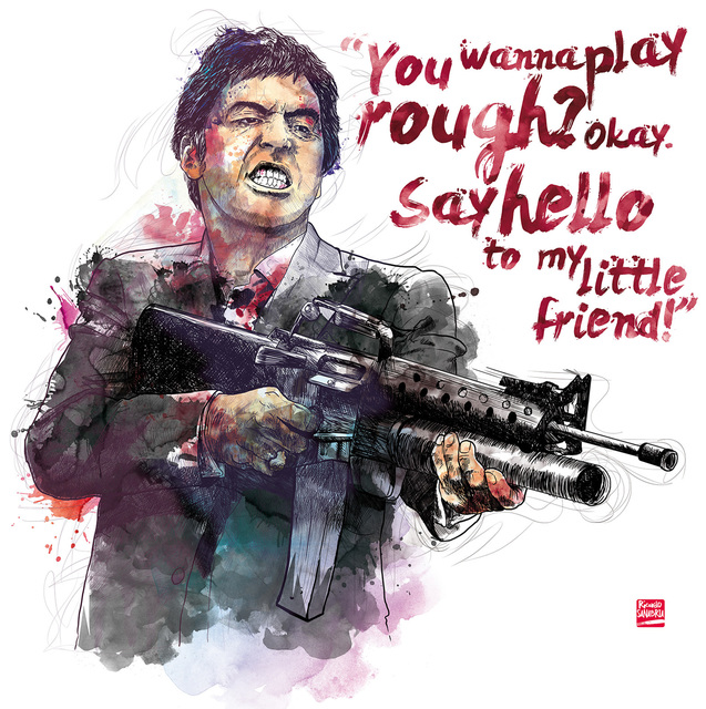 , 'SCARFACE,' 2016, DATG Concept
