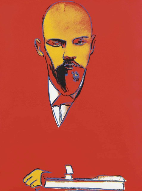 Andy Warhol, 'Red Lenin', 1987, Christie's