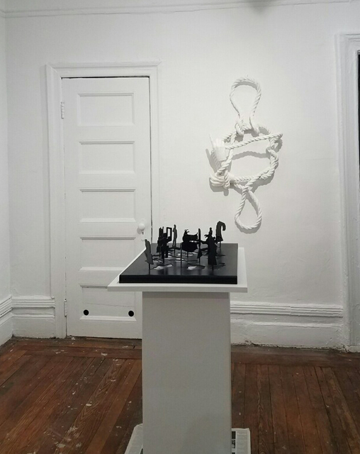 , 'Untitled (Sculpture Silhouette Model),' 2010, Air Mattress Gallery