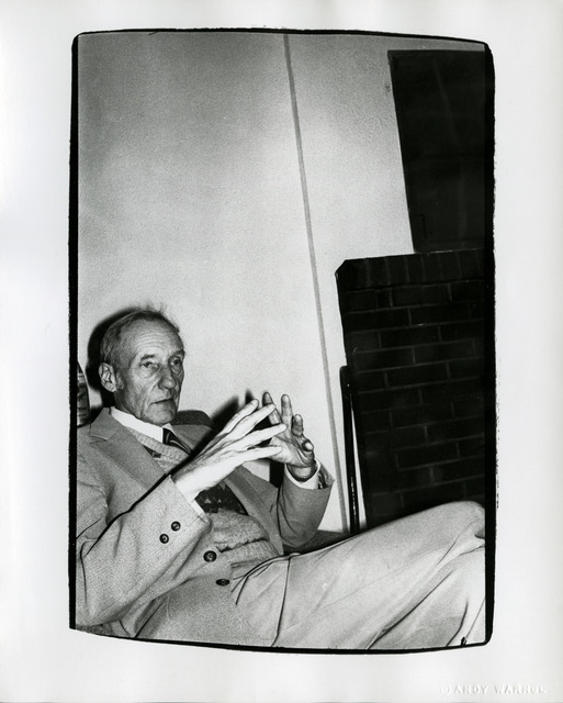 , 'Andy Warhol, Photograph of William S. Burroughs at the Chelsea Hotel, 1975,' 1975, Hedges Projects