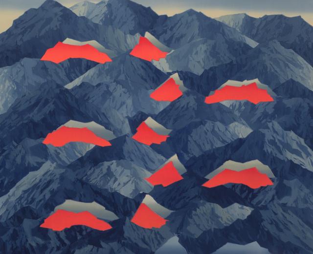 Beau Carey, 'Mt. Eolus', 2019, Richard Levy Gallery