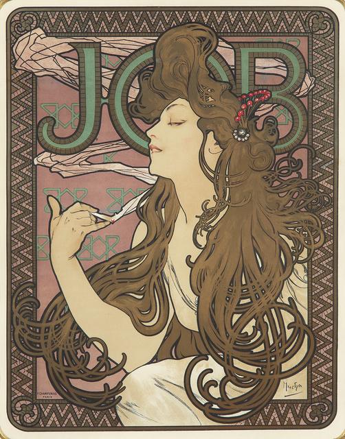 Alphonse Mucha, 'Job.', 1896, Rennert's Gallery