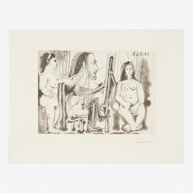 Pablo Picasso, 'Dans L'Atelier', 1963, Rago