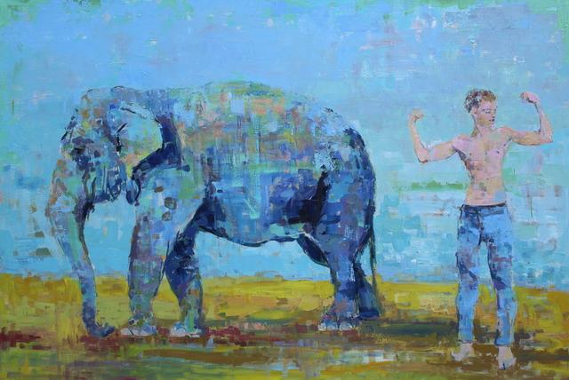 , 'Monkey see monkey do,' , Hugo Galerie