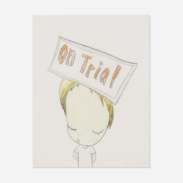 Yoshitomo Nara, 'On Trial', 1997, Wright