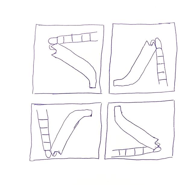 , 'Dreamt of Movement (Slide Rotation) ,' 2017, Robert Kananaj Gallery