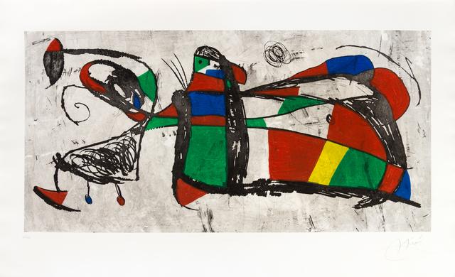 Joan Miró, 'Tres Joan', 1978, Hindman