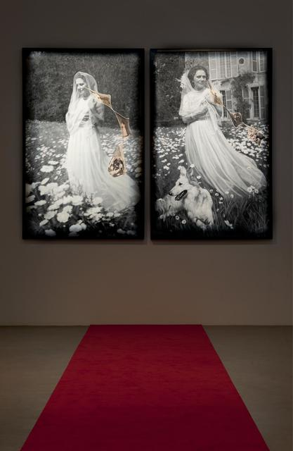, 'Installation view: Olga Forever (Olga Picasso en mariée, Boisgeloup),' 2012, Almine Rech