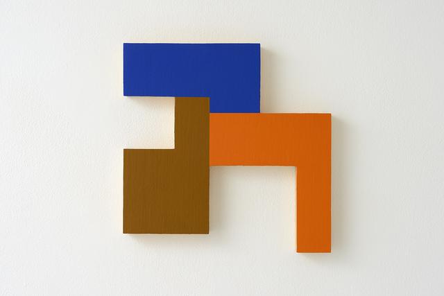 , 'Eccentric polyplane #6 (Negative spaces),' 1984, Studio la Città