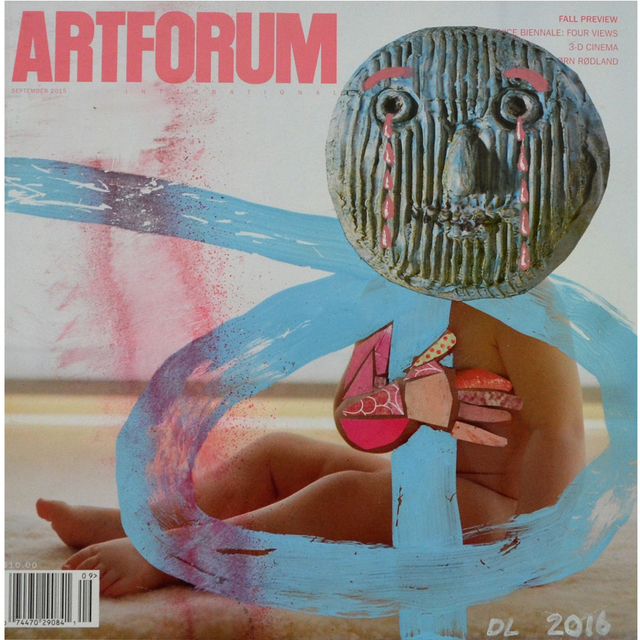 , 'Altered Artforum #4,' 2016, Klowden Mann
