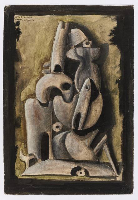 , 'Untitled (Ramot Menasche),' 1956, Cecilia de Torres, Ltd.