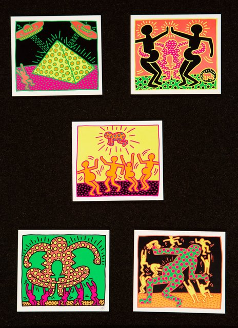 Keith Haring, 'Untitled, from The Fertility Suite (five works)', 1983, Heritage Auctions