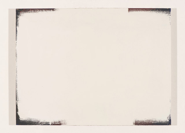 , 'White Space in a Black Box ,' 2015, Howard Scott Gallery