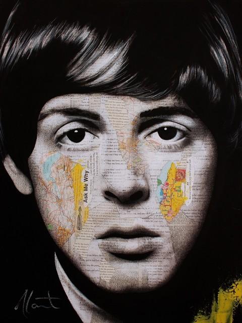 André Monet, 'Paul McCartney ', 2019, Galerie de Bellefeuille