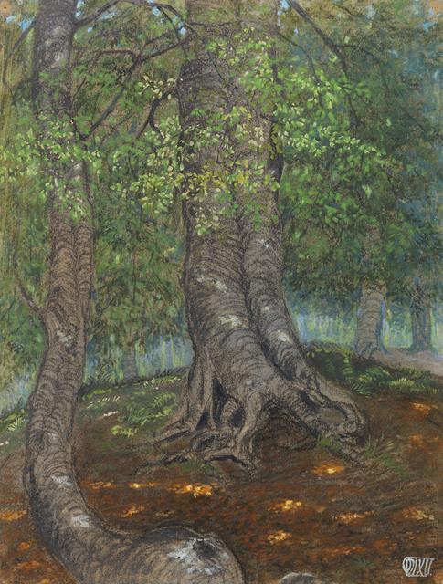 , ' Forest Clearing | Waldlichtung,' 1908, Gilden's Art Gallery