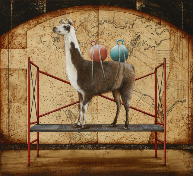 , 'Double Bump Humped Llama,' 2015, Sue Greenwood Fine Art