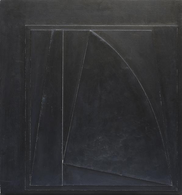 , 'Relief Noir Frange Blanche,' 1962, The Mayor Gallery