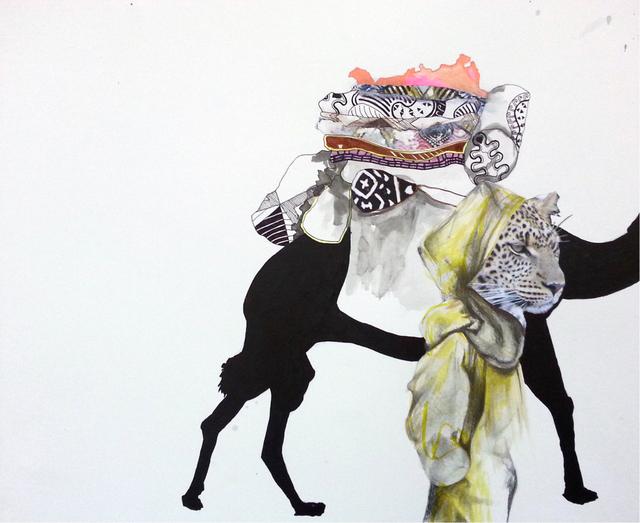 , 'tenderhearted [audre] crosses the sea,' 2014, Tiwani Contemporary