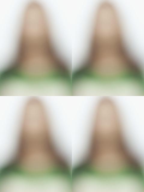 , '18% Gray:Id portrait:Guan Ying,' 2011, Juhui Art Gallery