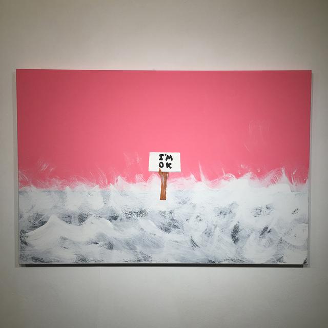 , 'I'm OK,' 2017, Lawrence Alkin Gallery