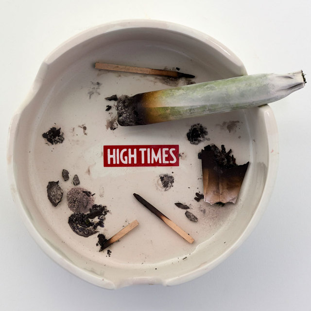 , 'High Times Ashtray,' 2017, Black Book Gallery