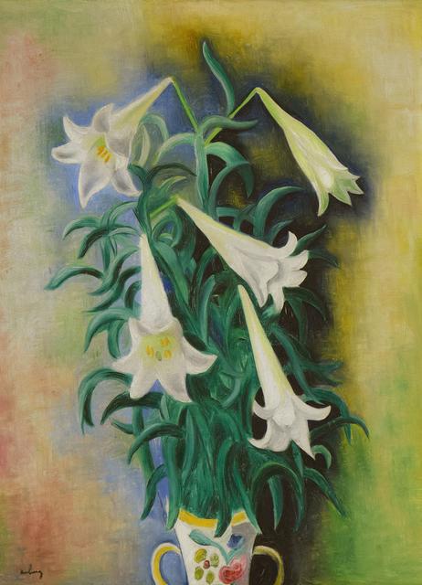 Moise Kisling, 'Lys', 1930, Stern Pissarro