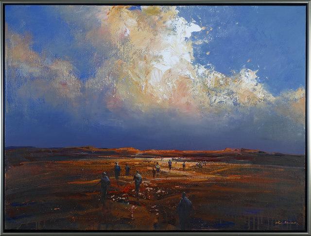 , 'Desert Crossing,' 2018, Wentworth Galleries