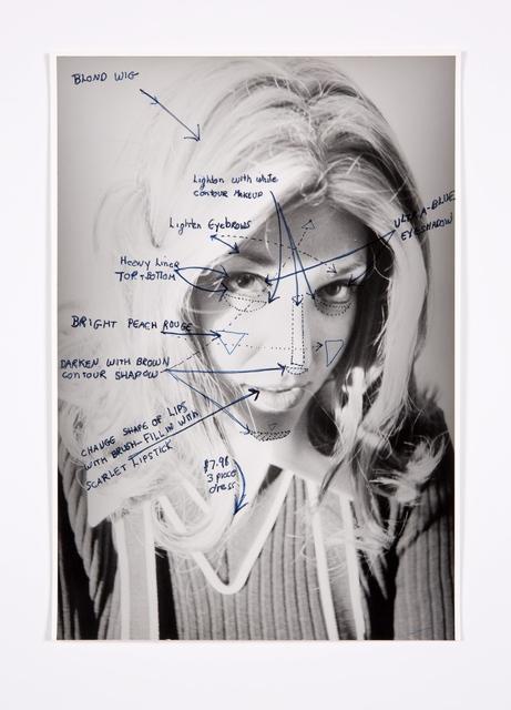 , 'Construction Chart Drawing,' 1973, Bridget Donahue