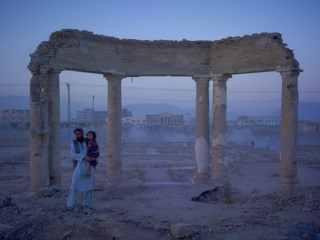 , 'Homeless Family from Hazarajat, Camped in the Grounds of the Old Presidential Palace,' 2010, Benrubi Gallery
