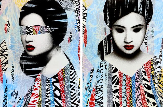 HUSH, 'Faces I/II Artist Proof (2 Prints)', 2019, Kumi Contemporary / Verso Contemporary