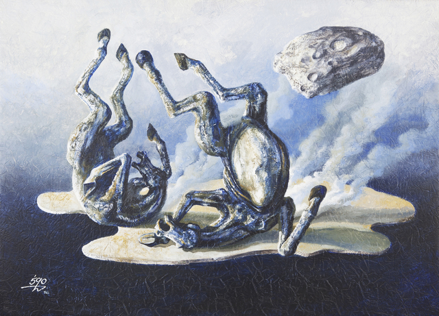 Moosa Al Halyan, 'Horse Painting', 1996, 56th Venice Biennale