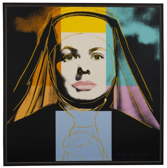 Andy Warhol, 'Ingrid Bergman. The Nun (Feldman & Schellmann 314)', 1983, Print, Screenprint in colours, Forum Auctions